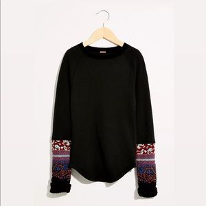 Free People In The Mix Cuff Thermal Long Sleeve